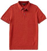 Michael Kors Pique Short-Sleeve Polo Shirt