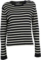 RED Valentino Striped Wool Sweater