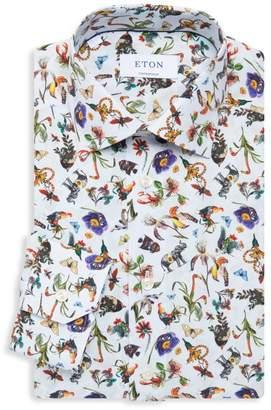 Eton Contemporary-Fit Transition Animal Dress Shirt