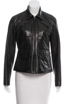 Ralph Lauren Black Label Lightweight Leather Jacket