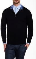Tailorbyrd MIT Quarter Zip Wool Sweater