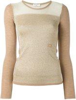 Sonia Rykiel shimmer sweater - women - Lurex/Wool - L