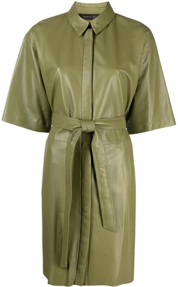 FEDERICA TOSI Tie-Waist Shirt Dress