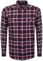 Barbour Copinsay Check Shirt Red