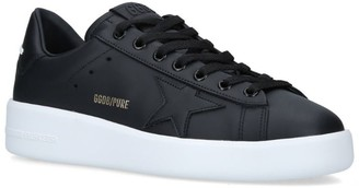 Golden Goose Leather Pure Star Sneakers