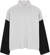 Eileen Fisher Colour-block roll-neck wool jumper