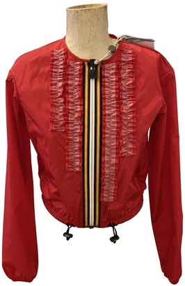 DSQUARED2 Red Trench Coat for Women