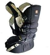 OKK A TOTS Okkatots Baby Carrier System Black With Tan Trim