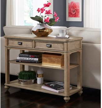 Heartwood Crossing Solid Wood Sofa/Media Console Table