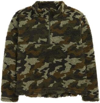 Treasure & Bond Kids' Print Fleece Pullover
