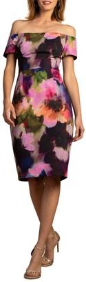 Trina Turk Ruby Off-the-Shoulder Dress