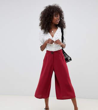 Vero Moda Petite high waisted culottes