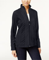 Style&Co. Style & Co. Quilted Fleece Jacket, Only at Macy's