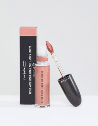 M·A·C MAC Retro Matte Liquid Lip Metallic - Quartzette