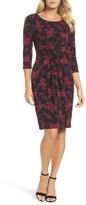 Adrianna Papell Women's Gathered Waist Sheath Dress