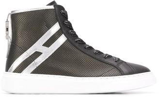 Hogan H365 perforated high-top sneakers