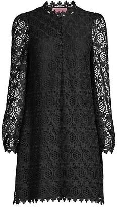 Kate Spade Scallop Lace Mini Dress