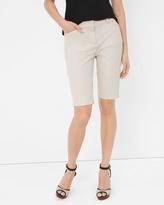 White House Black Market Premium Bi-Stretch Bermuda Shorts