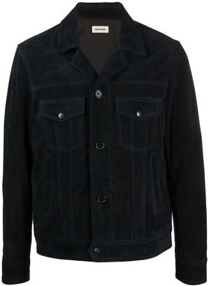 Zadig & Voltaire Lawrence multi-pocket leather jacket