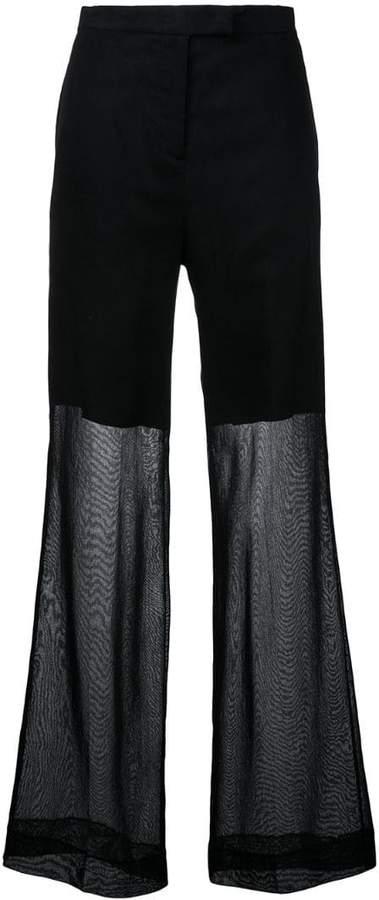 Yang Li elegant wide trousers