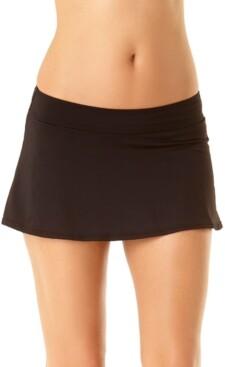 Anne Cole Solid Swim Skirt Women's Swimsuit