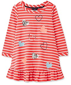 Joules Girls' Allie Striped Dress - Little Kid, Big Kid
