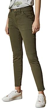 Ted Baker Combat Skinny Jeans in Olive