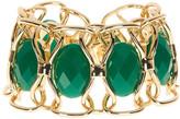 Trina Turk Oval Stone Flex Bracelet