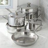 Crate & Barrel Le Creuset ® Signature Stainless Steel 10-Piece Cookware Set