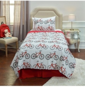 Riztex USA Bicycle Bed Full/Queen 3 Piece Comforter Set Bedding