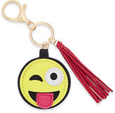 Macy's Inspired Life Silly Face Emoji and Tassel Keychain