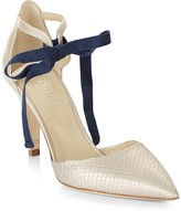 Hobbs London Gabriella Ankle Tie d'Orsay Court Pumps
