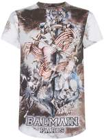 Balmain Cotton Anchor Printed T-shirt