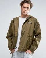 Brixton Maverick Coach Jacket With Hood