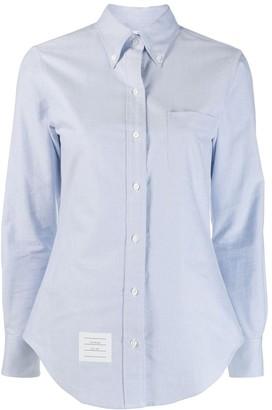 Thom Browne embellished anchor shirt