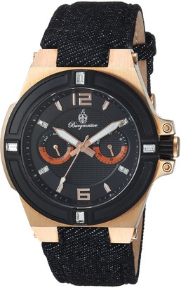 Burgmeister Womens Analogue Quartz Watch with Fabric and Canvas Strap BM220-922
