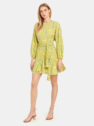 Rhode Resort Ella Puff Sleeve Mini Dress
