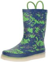 Western Chief Kids' LED Light-up Waterproof Rechargeable Rain Boot