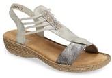 Rieker Antistress Women's Regina T-Strap Sandal
