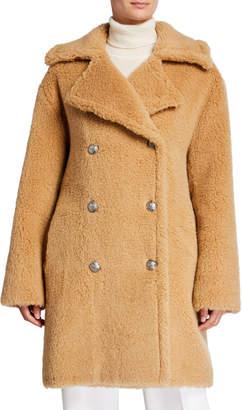 /Faz/ Not Fur Martingale Maxi Teddy Coat