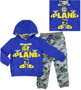 Asstd National Brand Novelty 2-pc. Blue Long-Sleeve Pullover and Pants Set - Toddler Boys 2t-4t