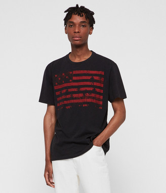 AllSaints Stars N Palms Crew T-Shirt
