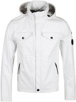 Cp Company White T-mack Waterproof Watchviewer Jacket