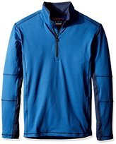 Hawke & Co Men's Tech Fleece 1/4 Zip Jacket