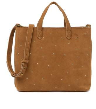 Madewell Small Suede Transport Tote