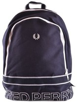 Fred Perry Men's Blue Cotton Backpack.
