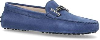 Tod's Suede Gommini Driving Shoes