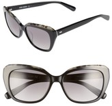 Bobbi Brown Women's Bobbie Brown The Koko 55Mm Cat Eye Sunglasses - Black