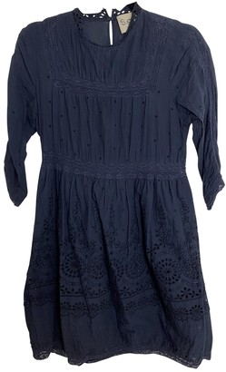 Sea New York Navy Cotton Dresses
