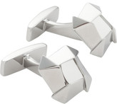 HUGO BOSS Rich Geometric Knot Shaped Cufflink